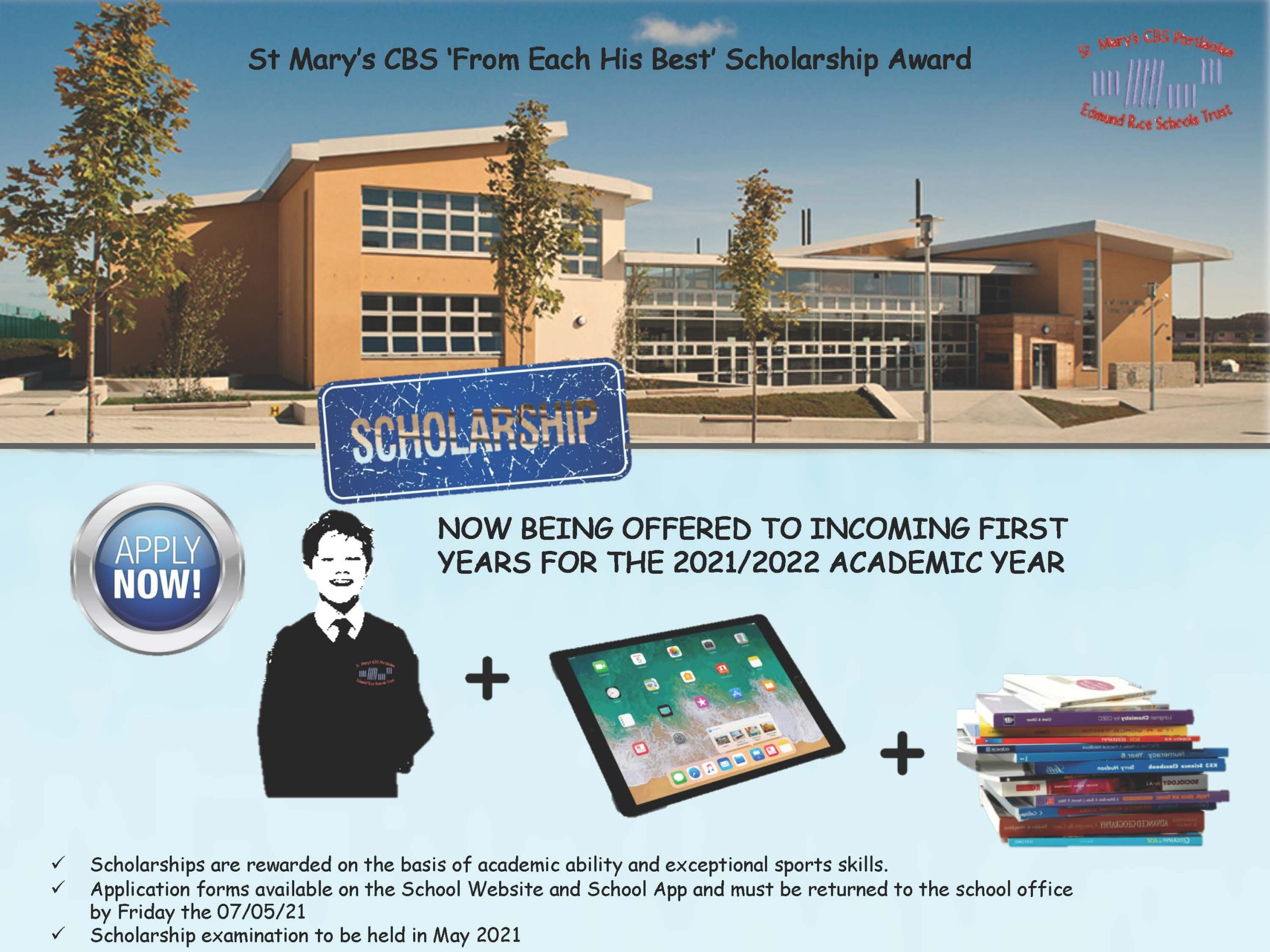Ad for Scholarship